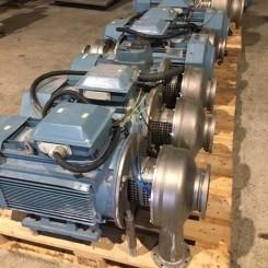 Centrifugal pumps P0295-P0302 8 stk.