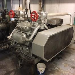Ammoniak kølekompressor