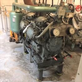 Ammoniak kølekompressor 110 kw